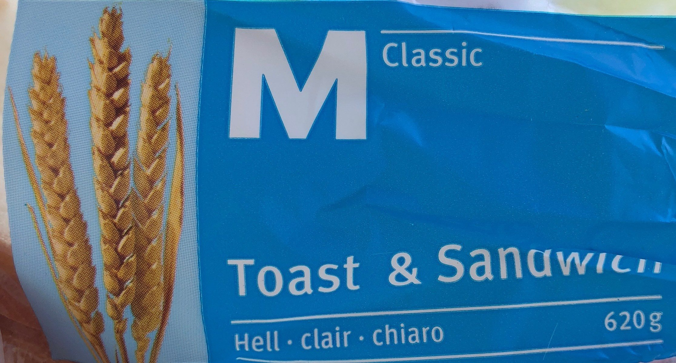 Toast & sandwich- clair - Product