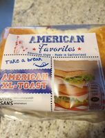 American XL-Toasy - Product - fr