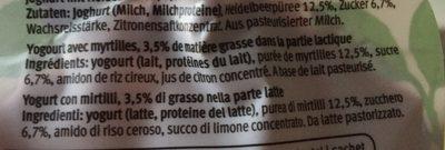 Joghurt to ho - Ingrediënten