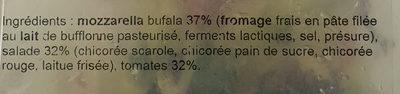 MD Salade Tomates Mozzarella di Bufala - Ingredients - fr