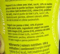 Yogos kiwi - Ingredients - fr