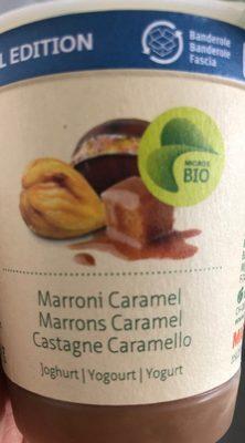 Marrons caramel - Produit