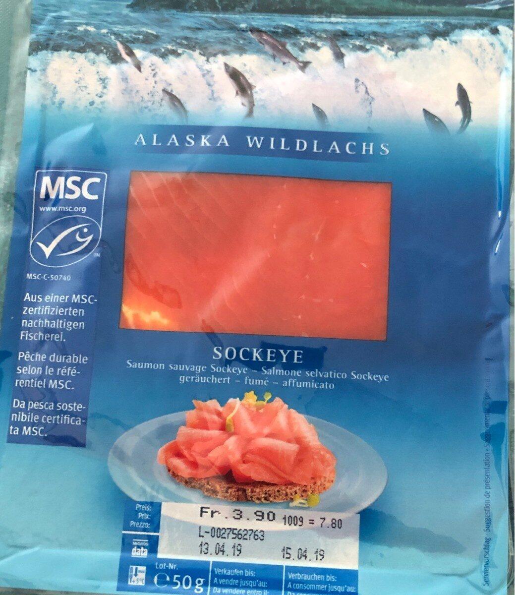 Alaska sockeye - Product