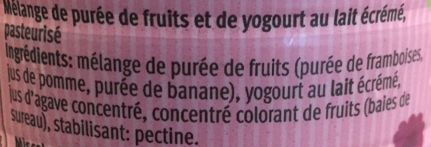 Smoothie Himbeer, Apfel, Banane - Ingrediënten
