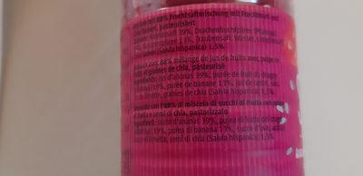 Smoothie - Ingredients