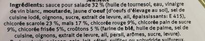 Salade - Ingrédients - fr