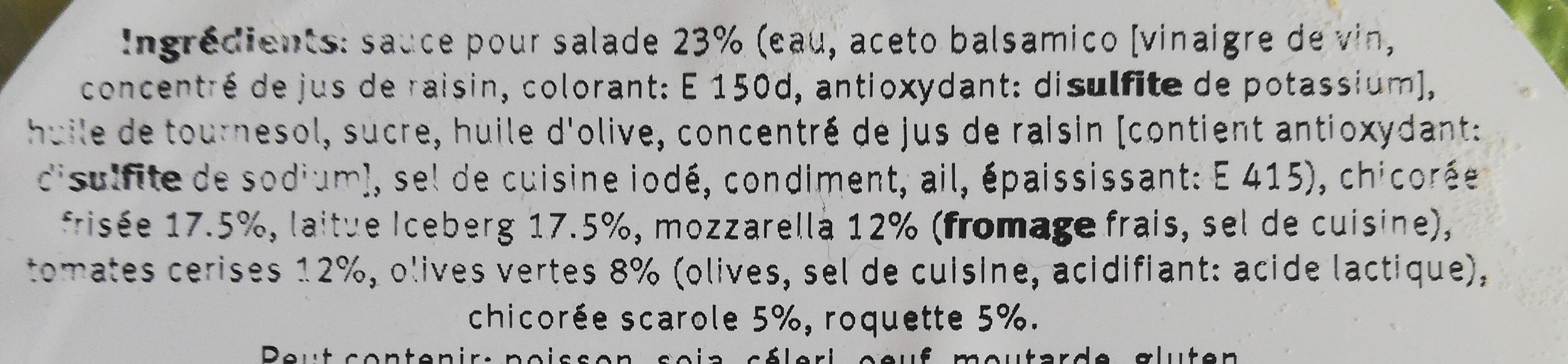 Saladbowl italian style - Ingredients - fr