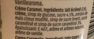 Creme caramel - Ingredients - fr