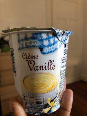 Crème vanille - Product - fr