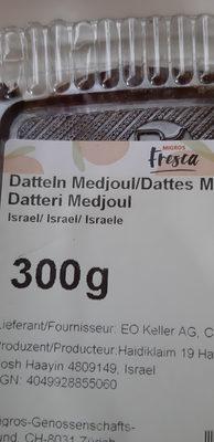Datteln - Ingredients