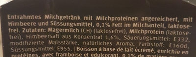 Oh! HIGH protein drink - Ingredients