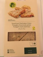 Triangles choucrute panais - Product - fr