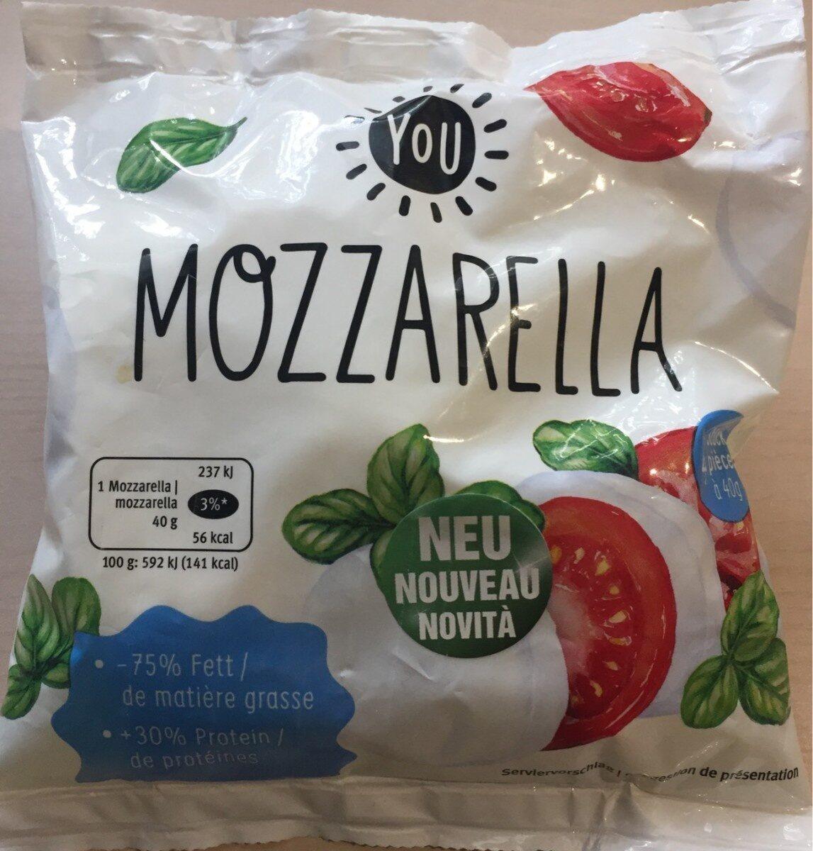 Mozzarella YOU - Product - fr
