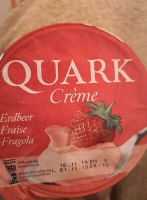 Quark crème - Prodotto - en