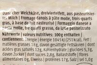 Paneer - Nutrition facts - en