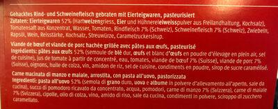 Viande hachée avec cornettes - Inhaltsstoffe