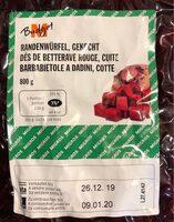 Dés de betterave rouge, cuite - Prodotto - fr