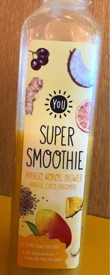 You super smoothie mango kokos ingwer - Product - fr