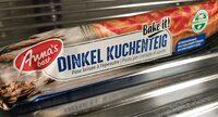 Dinkel Kuchenteig - Prodotto - fr