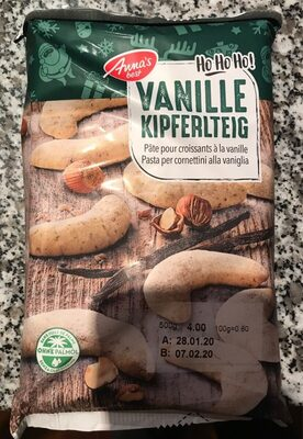 Pâte pour croissants à la vanille - Product - fr