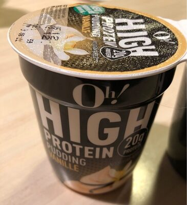 High Protein Pudding Vanille - Product