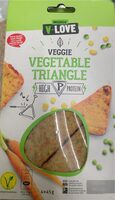 Vegetable triangle - Product - fr