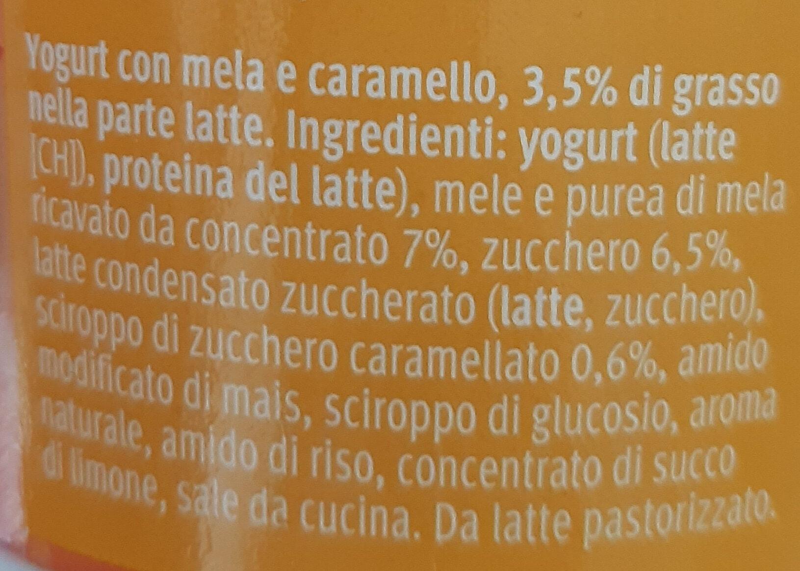 Joghurt Pomme Caramel - Ingredienti - it