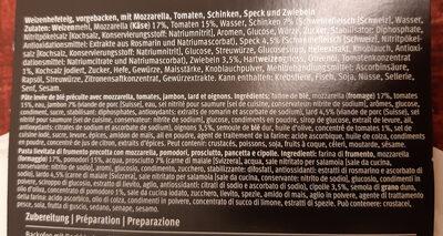 Prosciutto lardo & cipolle - Ingredienti - it