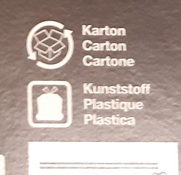 Prosciutto lardo & cipolle - Istruzioni per il riciclaggio e/o informazioni sull'imballaggio - it