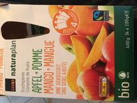 Compote de fruit pomme-mangue - Produit - en