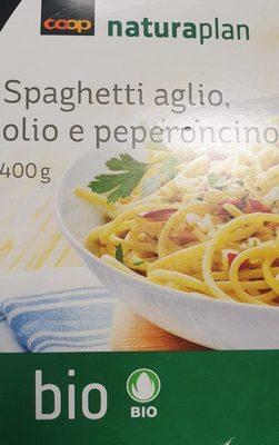 Spaghetti aglio, olio e peperoncino (ail, huile et piments) - Produit - fr