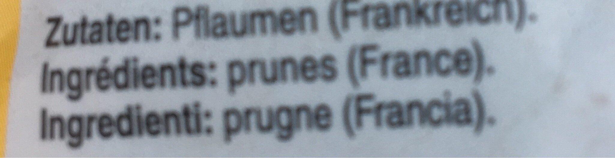 Pruneaux d'Agen - Ingredienti - fr
