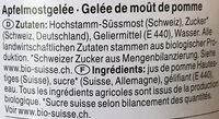 Moût de pomme - Ingredienti - fr