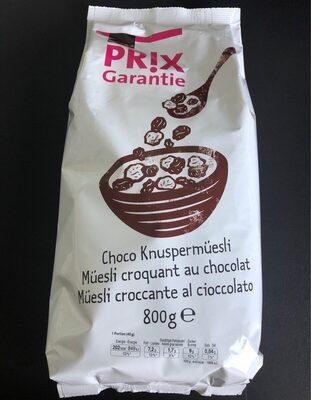 Muesli croquant au chocolat - Prodotto - fr