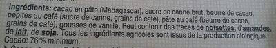 Café Madagascar - Ingredients - fr