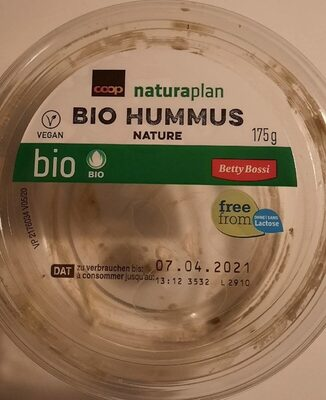 Bio hummus nature - Product - fr