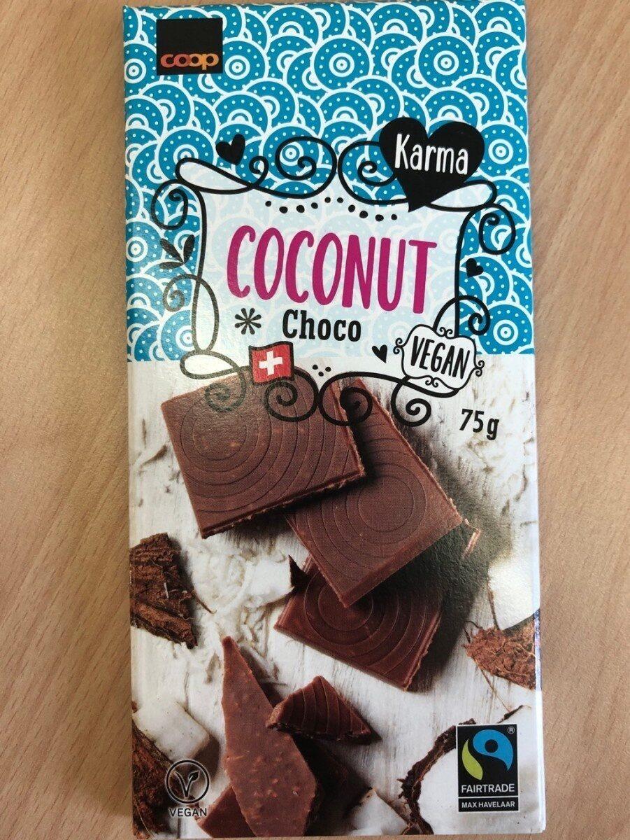 Coconut choco vegan - Prodotto - fr