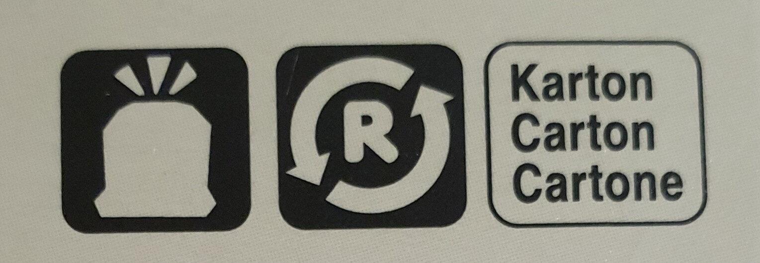 Chalet Burger - Istruzioni per il riciclaggio e/o informazioni sull'imballaggio - fr
