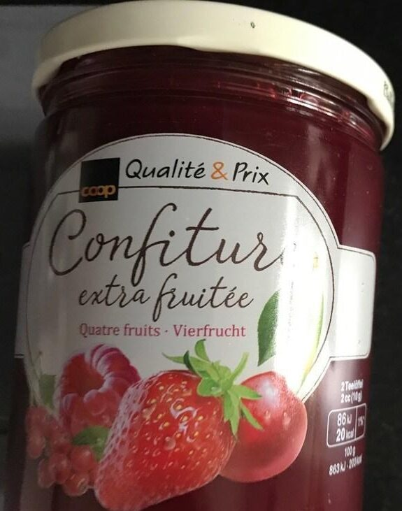 Confiture 4 fruits - Prodotto - fr
