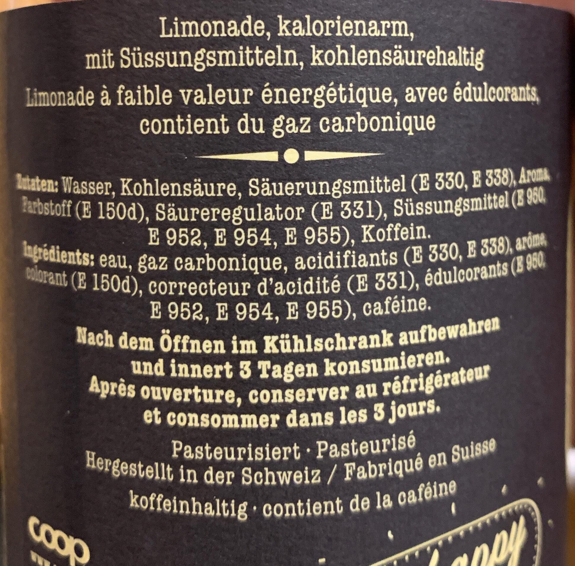 Happy Cola Zéro - Ingredienti - fr