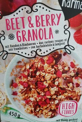 Beet & berry Granola - Product - fr