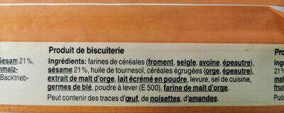 Country crackers sésame - Ingredients - fr