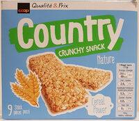 County crunchy snack nature - Prodotto - fr