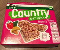 Country Soft Snack Raspberry Almond - Product - fr