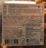 Bouelttes aux légumes - Ingredienti - fr