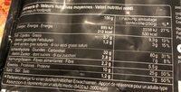 RAVIOLI AL BRASATO - Nutrition facts