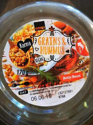 Grains & hummus - Produit
