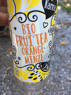 Bio frui'tea orange minze - Prodotto - fr