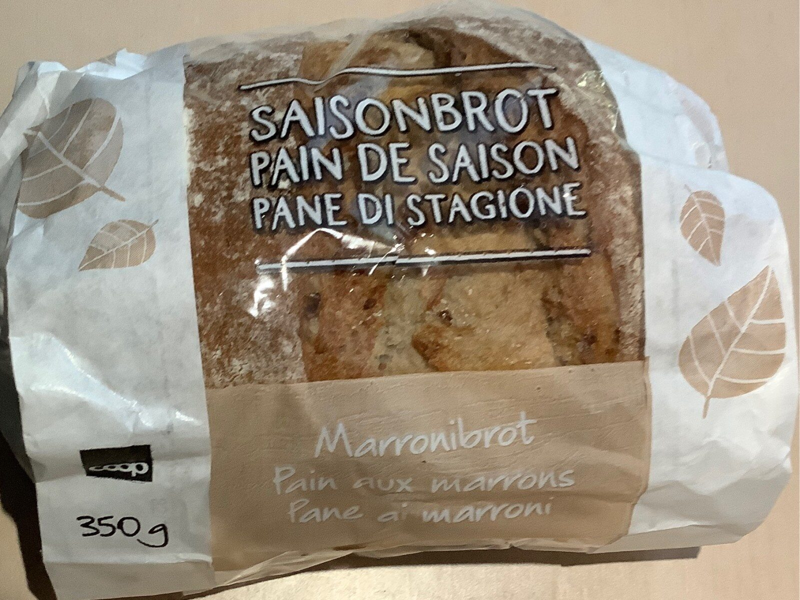 pain aux marrons - Product - fr