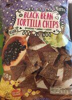 Black bean tortilla chips - Product - fr